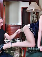 Secretary Pantyhose pic 11