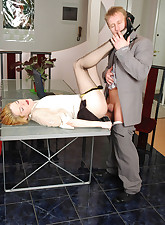 Secretary Pantyhose pic 15