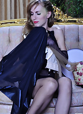 Lacy Nylons pic 20
