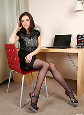Lacy Nylons pic 4