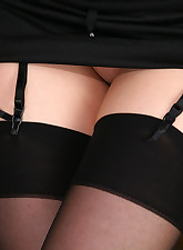 Lacy Nylons pic 7