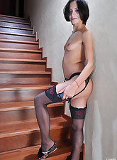 Lacy Nylons pic 19