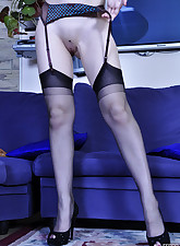 Lacy Nylons pic 12