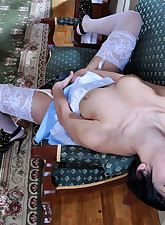 Lacy Nylons pic 18