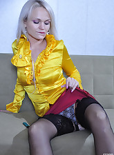 Lacy Nylons pic 3