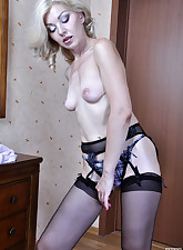 Lacy Nylons pic 14