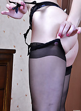 Lacy Nylons pic 10