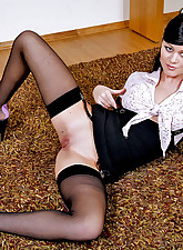 Lacy Nylons pic 8