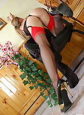 Lacy Nylons pic 13