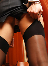 Lacy Nylons pic 5