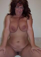 Fat Amateur MILF pic 4
