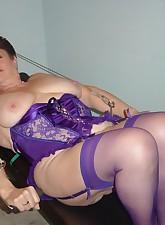 Fat Amateur MILF pic 8