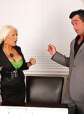 Big Tits Boss pic 8