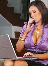 Big Tits Boss pic 1