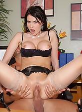 Big Tits Boss pic 6