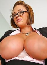 Big Tits Boss pic 3