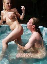 Pool MILFs pic 6