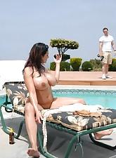Pool MILFs pic 5