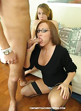 Moms Teaching Teens pic 3